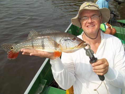 pesca do tucunaré