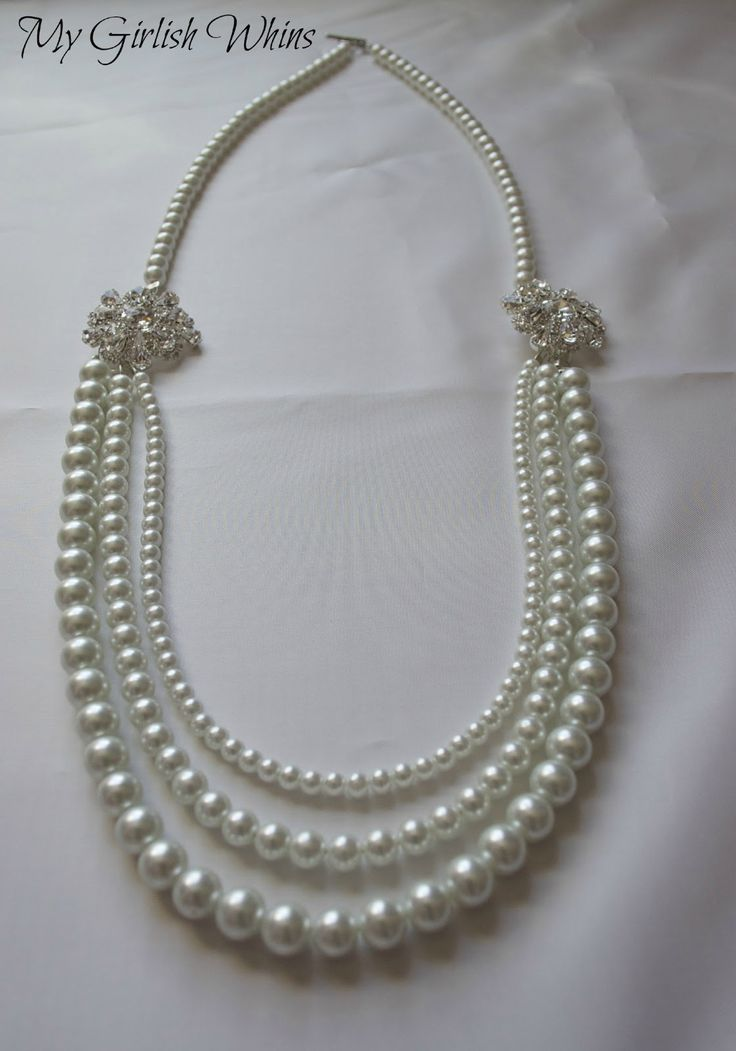 17 Best Images About Jewelry Bead Stringing Necklaces On