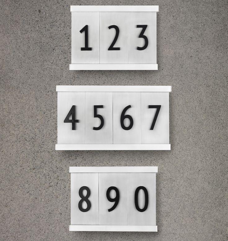 8 12 Aluminum Tile House Numbers 22 best