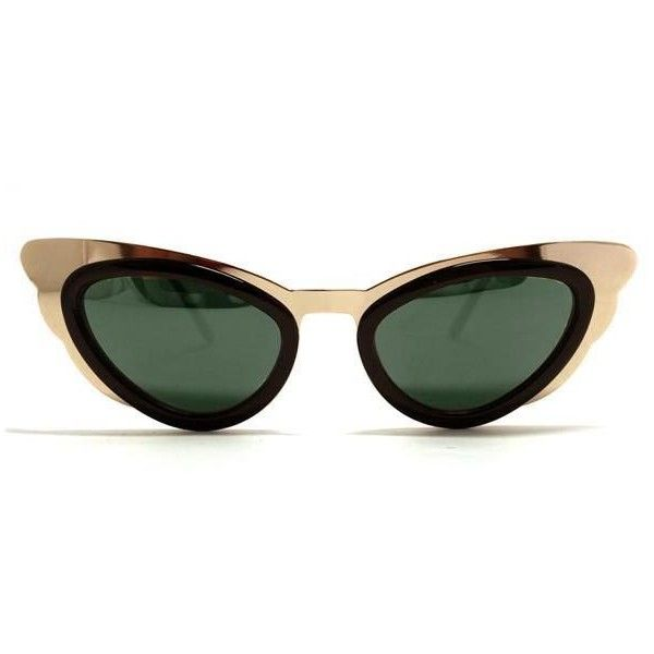 Spitfire Apex Gold/Black Sunglasses ($46) ❤ liked on Polyvore featuring accessories, eyewear, sunglasses, gold, lens glasses, spitfire glasses, gold sunglasses, spitfire sunglasses and gold glasses
