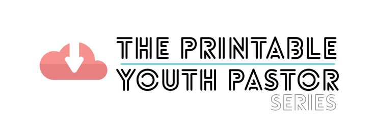 The printable youth pastor series freebie friday for Youth group calendar template
