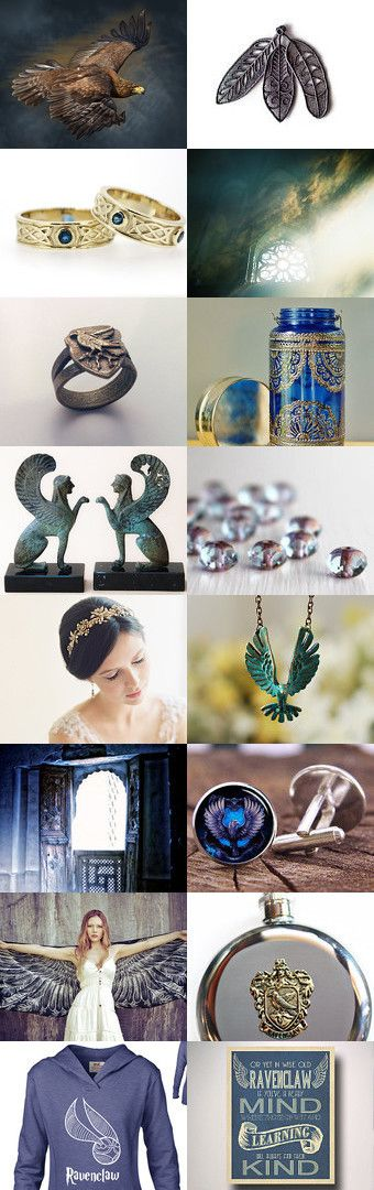 Ravenclaw by Viktoria Schuster on Etsy--Pinned with TreasuryPin.com