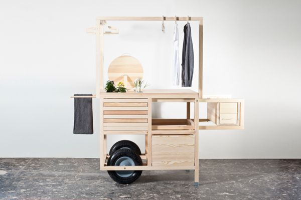 COS MOBILE POP-UP STORE IN MARSEILLE designed by chmara.rosinke