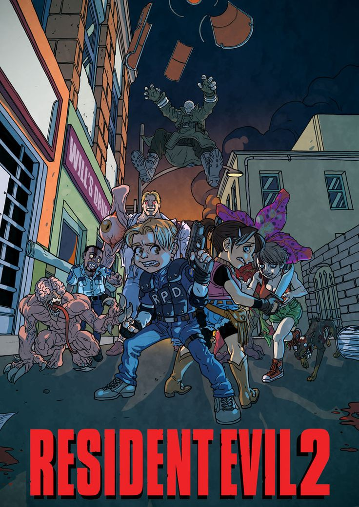 Resident Evil 2 by pietro-ant