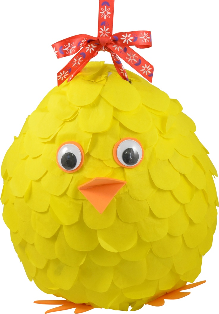 Make this Chicken Easter Pinata!
