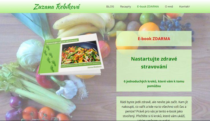 Zuzana Řebíková a její ebooky ZDARMA: Nastartujte zdravé stravování