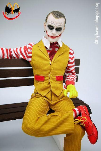 toyhaven: Super Duck C003 1/6 scale Hamburg Uncle Joker clothes set with Joker head REVIEW II