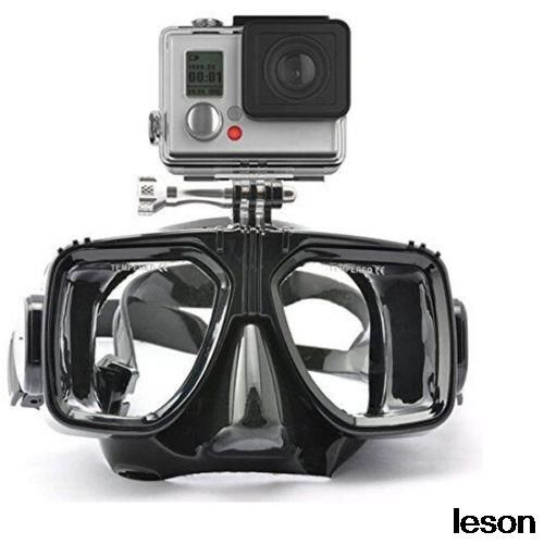 Дайвинг Оборудование Для Монтажа Камеры Силиконовая Маска Для Дайвинга Подводное Плавание Плавание очки для Спорта камеры GoPro HD Hero 2 3 3 + 4