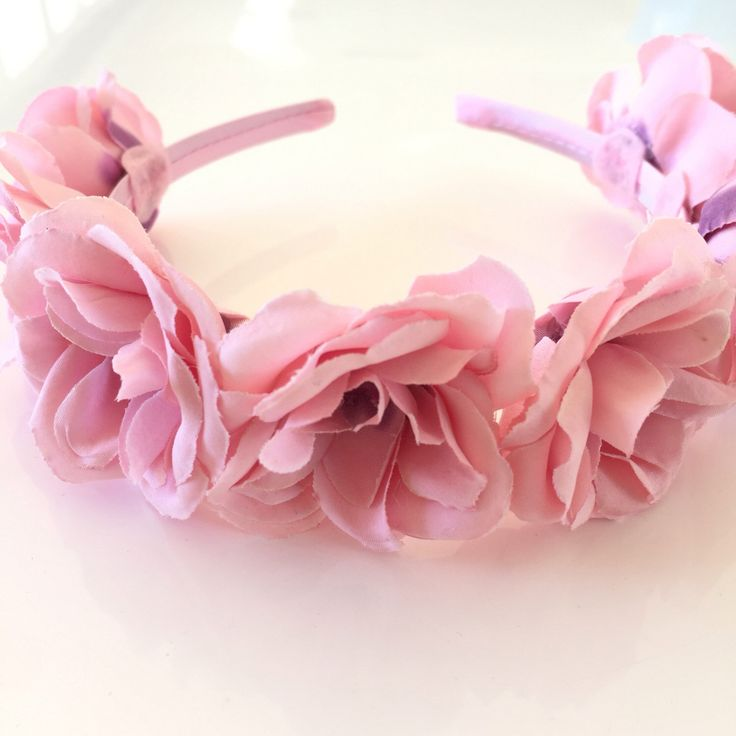 A personal favourite from my Etsy shop https://www.etsy.com/au/listing/449177356/pink-flower-headband-silk-flower