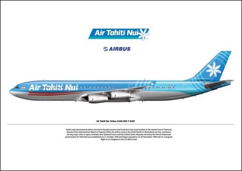Air Tahiti Nui profile
