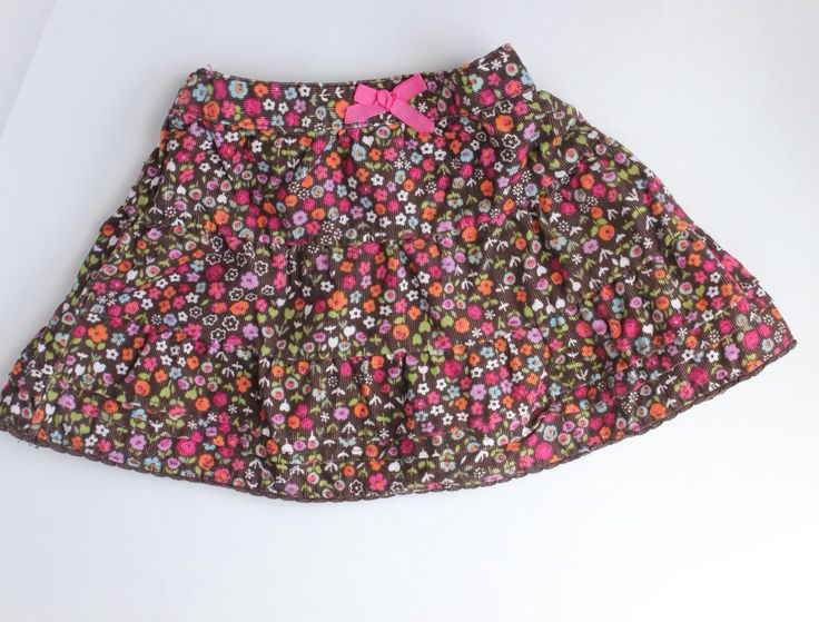 Corduroy skirt for Baby Girl for Fall by Osh Kosh, Size 24 Months.  Buy Resale and Save!