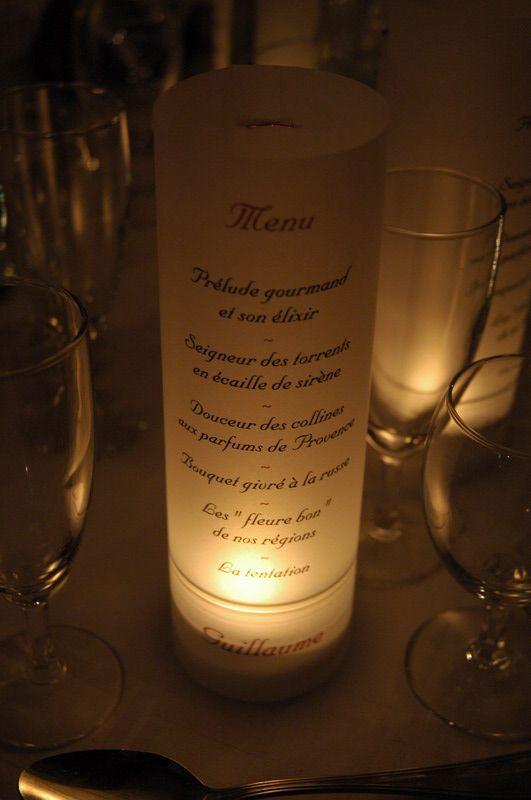 Les 233 meilleures images propos de table mariage sur for Idee menu anniversaire de mariage