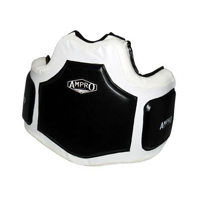 Ampro Pro Gel Body Protector - Black/White £95.00