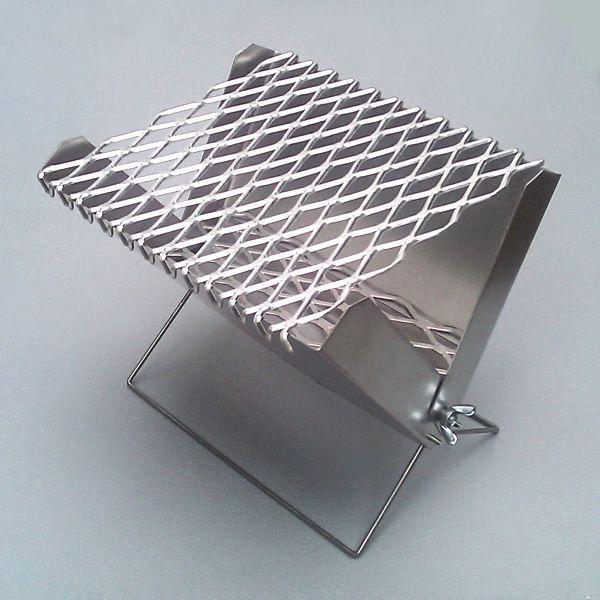 Mini Portable Barbecue. $23.95, via Etsy. http://www.etsy.com/listing/98659570/mini-portable-barbecue#