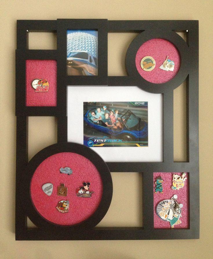 Pin Collection Display Board or Fun Bulletin Board. $30.00, via Etsy.