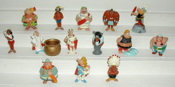 My Collection : Asterix Kinder Cartoon Figures