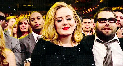 """THANK YOU FOR BLESSING US, QUEEN ADELE. 