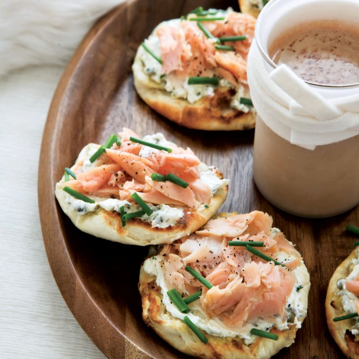 Smoked-Trout-and-Caper-Cream-Cheese Toasts | Food & Wine