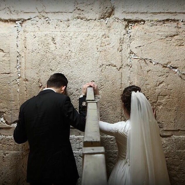 Jewish Version Of A Mormon Temple Marriage Picture Thats The Wall They Pray Against For Third To Be Built In Israel