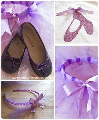 Le creazioni di Marzia - W il carnevale - Costume da ballerina