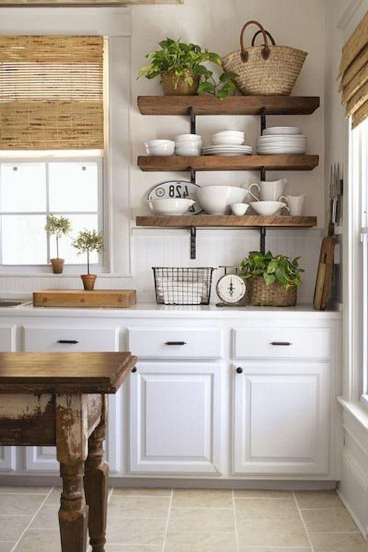 57 Inexpensive Farmhouse Kitchen Ideas On A Budget Kitchen