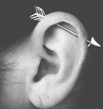 Piercing industriel flêche - Arrow