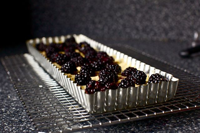 Blackberry and Coconut Tart...yum | recipes | Pinterest