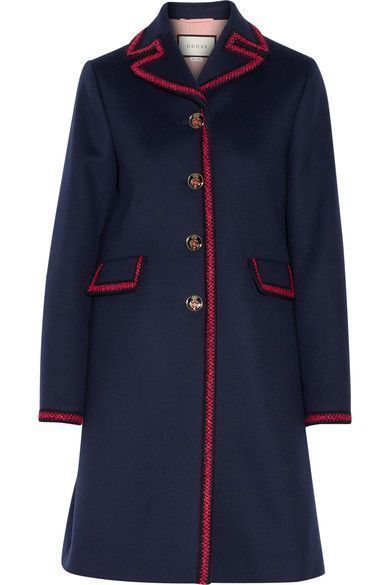 Gucci Embroidered Wool Coat Size 42 BRAND NEW!! | Clothing, Shoes & Accessories, Women's Clothing, Coats & Jackets | eBay!