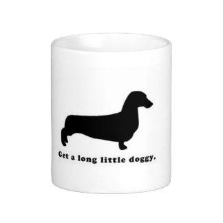 Dachshund Weiner Dog Mugs