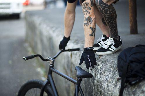 bike, boy, ink, straight edge, sxe, tattoo