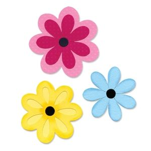 They are finally here!  Sizzix Bigz L Die - 3 Flower Layers $29.99