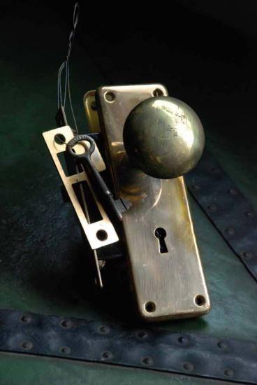ドアノブ SARGENT back set 50mm 戸厚25mm-45mm - アンティーク金物と古家具 つむぎ商會