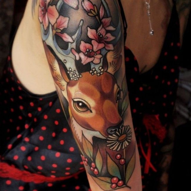 deer+tattoos+(2)