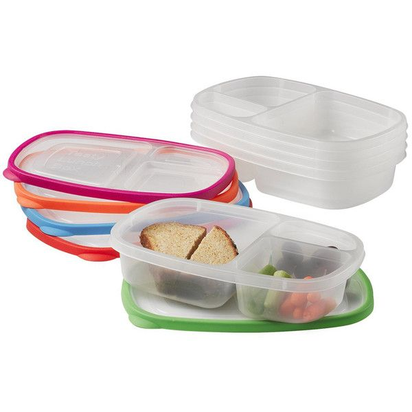 Home It Lunch Box ($8.79) ❤ liked on Polyvore featuring home, kitchen & dining, food storage containers, bpa free lunch box, bpa free plastic food storage containers, plastic food storage containers, plastic lunch boxes and bpa free food storage containers