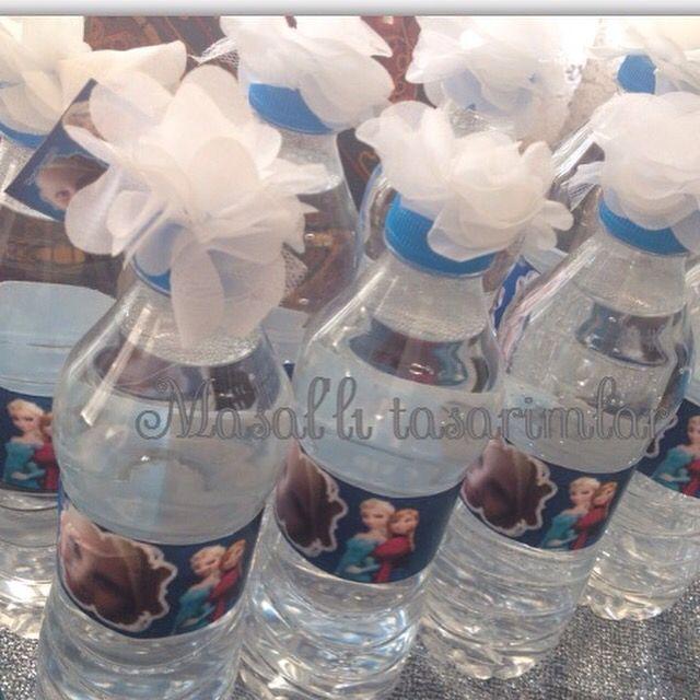 Su şişesi süslemeleri