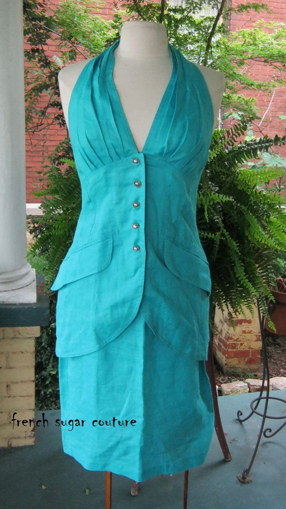 French Sugar Couture Vintage 1980's Rhonda by frenchsugarcouture, $49.00