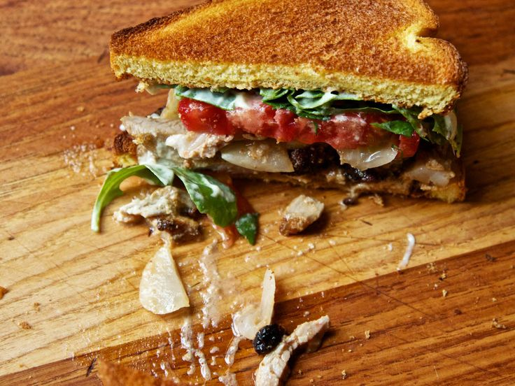 The most intense turkey club sandwich we've ever seen. #recipe #technique