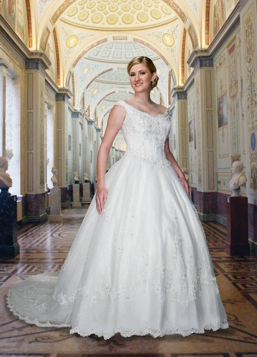 Davinci Full Figure Wedding-Dresses dvplus001 by Jorma wedding dresses factory