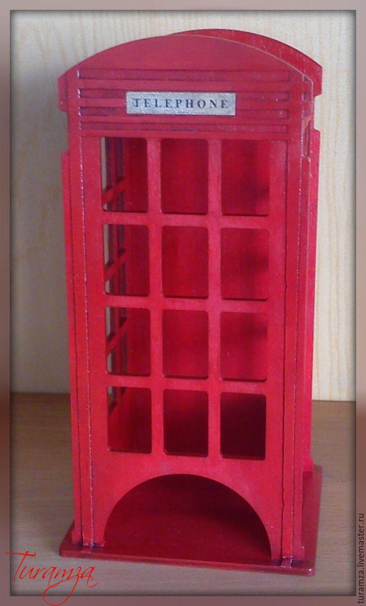 """Купить Чайный домик """"Телефонная будка"""" - чайный домик, телефонная будка, английский стиль"""