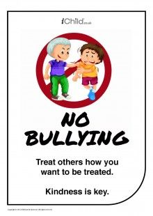 18 best anti bullying images on pinterest fine motor fine motor our poster can be displayed in the classroom or at home and used to altavistaventures Images