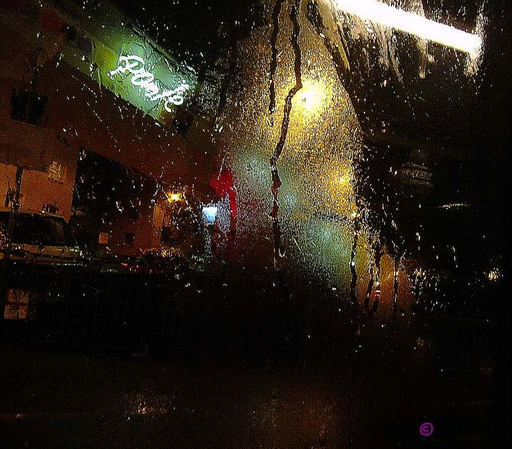 unchanged - a seen through the wet windowpane of a bus :-)