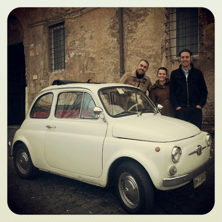 Touring Rome oldstyle