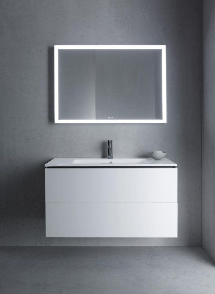 Lsh Vanity Mirror Option Me By Starck Duravit Bathroom