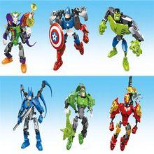 Green Lantern DC Figurine Marvel Comics Hulk The Joker Iron Man Batman Action Figure Toy Ironman The Avengers Toys Superhero