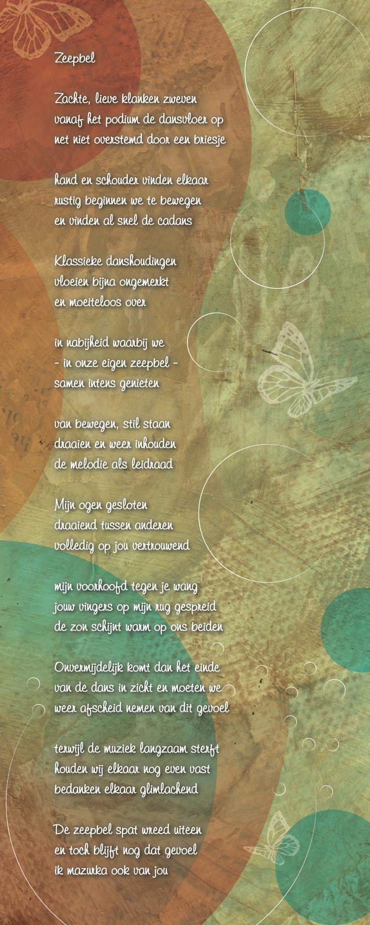 Gedicht op digitale kunst. Geschreven naar aanleiding van een prachtige dans, geplaatst op een detail van een eerder door mij gemaakt schilderij dat ik voor dit gedicht digitaal bewerkte.