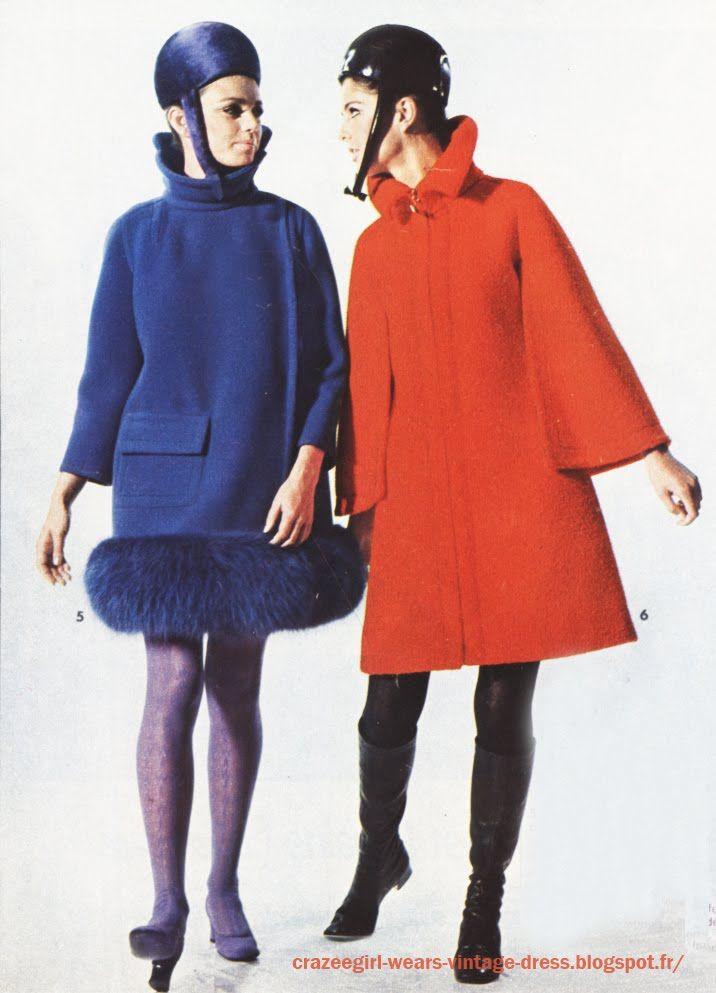 Pierre Cardin coat 1967 1968 1969 60s 1960 mod