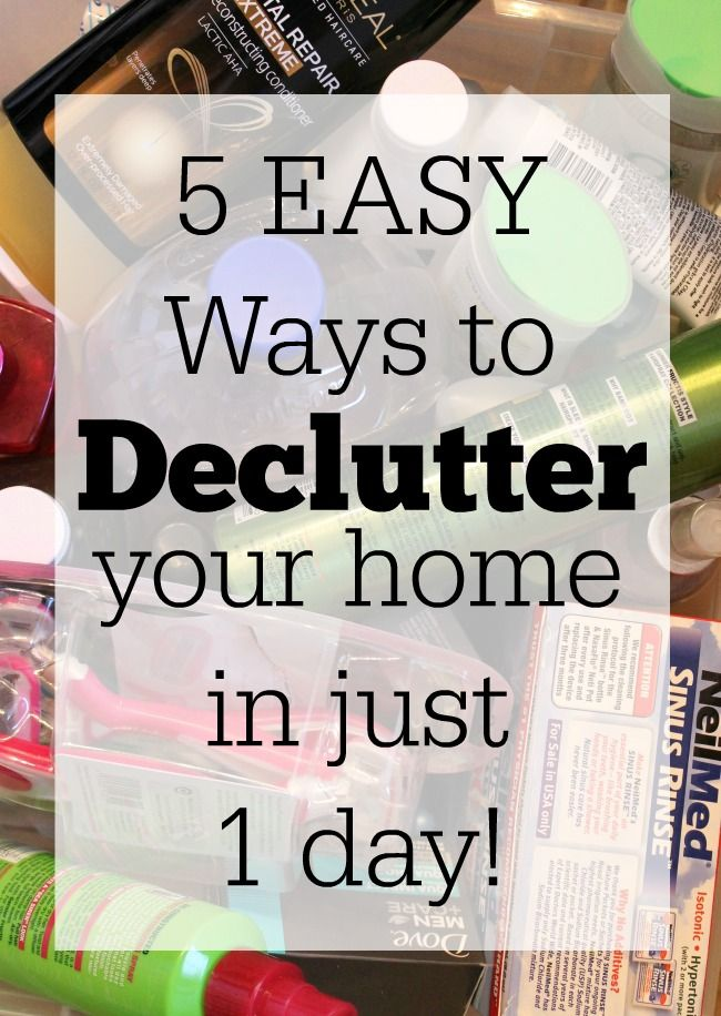 17 best ideas about declutter your home on pinterest - How to declutter your bedroom fast ...
