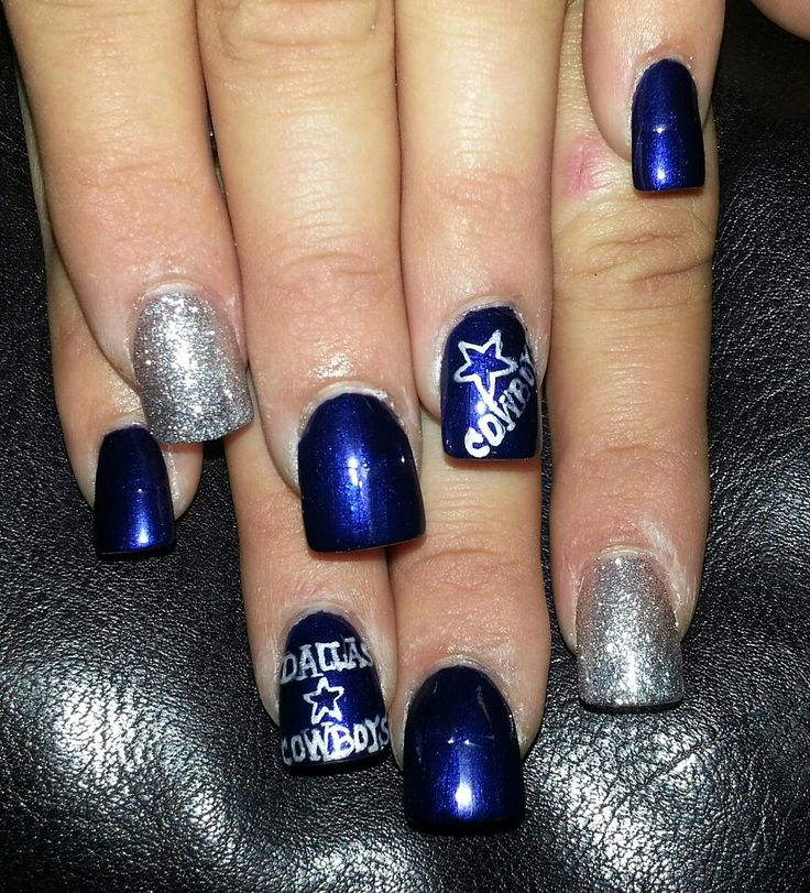 Best 25 dallas cowboys nails ideas on pinterest dallas cowboys i dont care for the dallas cowboys just like the nails lol prinsesfo Image collections