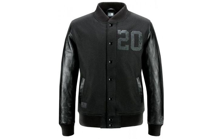 JACKET NEW ERA BLACK ICE TWENTY VARSITY Prezzo: 180,00€ Compra Online: http://www.aw-lab.com/shop/jacket-new-era-black-ice-twenty-varsity-9796114