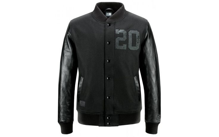 JACKET NEW ERA BLACK ICE TWENTY VARSITY Prezzo: 180,00€ Compra Online: http://www.aw-lab.com/shop/jacket-new-era-black-ice-twenty-varsity-9796114